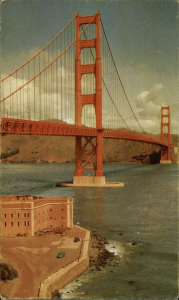 Golden Gate Bridge - Longest Suspension Bridge in the World San Francisco California