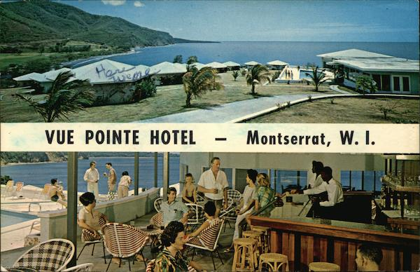 Vue Pointe Hotel Montserrat West Indies Caribbean Islands