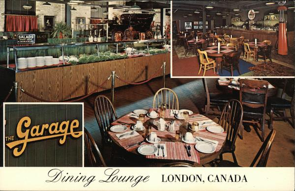 The Garage Dining Lounge London Canada Ontario