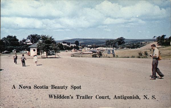 Whidden's Trailer Court & Camping Grounds Antigonish Canada