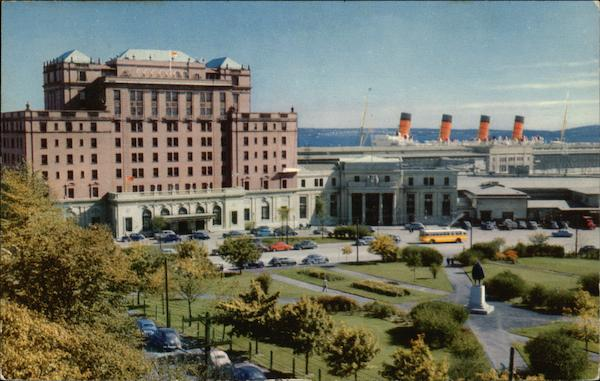 Nova Scotian Hotel, Union Station and Ocean Terminals Halifax Canada