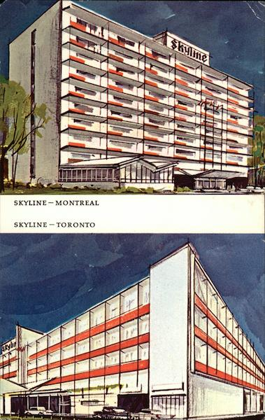 Skyline Hotels Montreal Canada Quebec