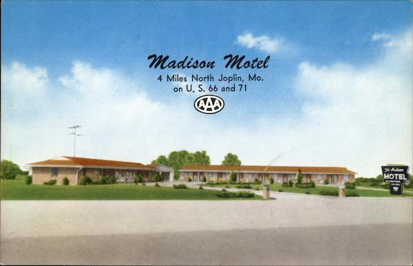 Madison Motel Webb City Missouri