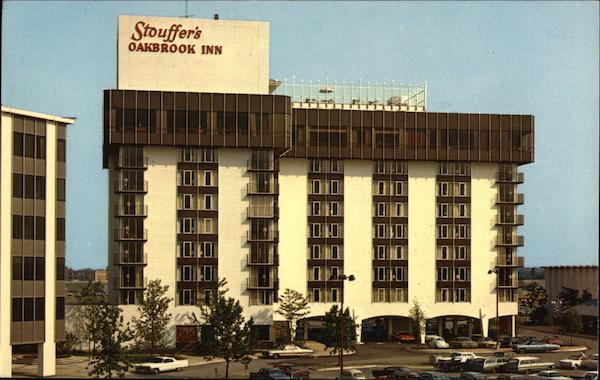 Stouffer S Oakbrook Inn Oak Brook Il Postcard