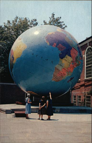 The Babson World Globe Wellesley Massachusetts