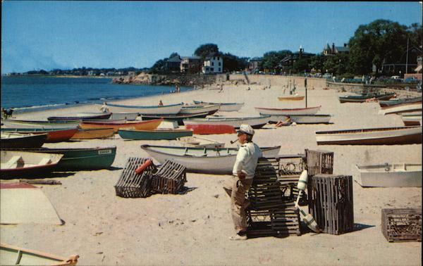 Fishing Boats at Fishermen's Beach Swampscott Massachusetts