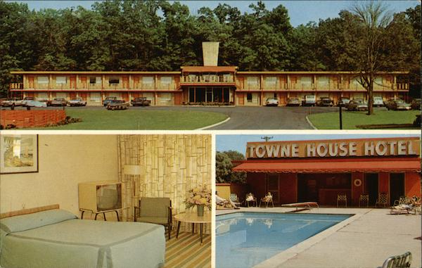 Towne House Motor Hotel Wethersfield Connecticut
