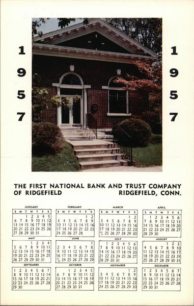 The First National Bank and Trust Company of Ridgefield Connecticut