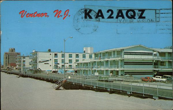 KA2AQZ Ventnor City New Jersey QSL & Ham Radio