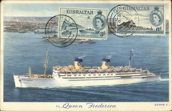 S. S. Queen Frederica Cruise Ships