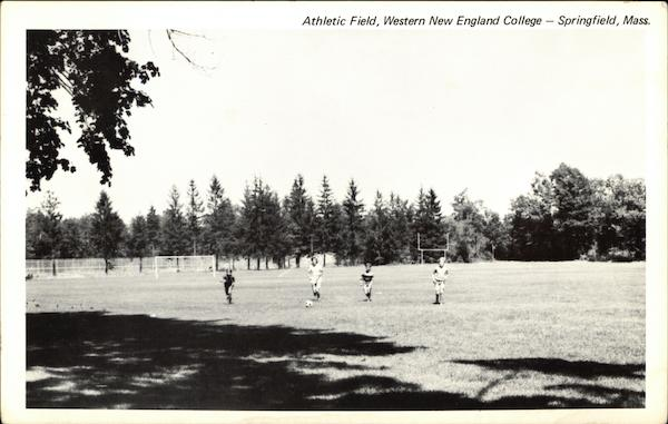 Athletic Field, Western New England College Springfield Massachusetts