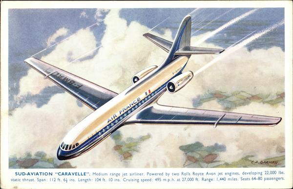 Sud-Aviation Caravelle Aircraft