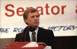 Dan Quayle Speaking at Court House
