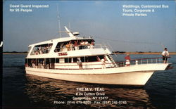 The M.V. Teal, North River Cruises