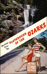 Greeting from the Playground of the Ozarks Postcard