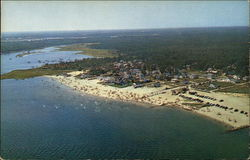 Aerial View of Swift's Beach