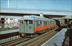 Boston MTA 0969 Postcard