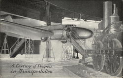 A Century of Progress in Transportation Postcard