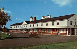 Fisher's Motel Postcard
