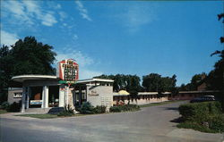 The Terrace Motel Court Postcard