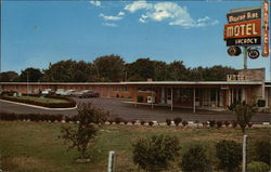 Modern-Aire Motel Postcard