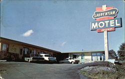 Laurentian Motel Postcard