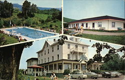 Auberge-Motels Beausejour Postcard