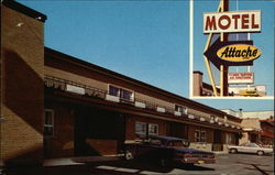 Motel Attache Postcard