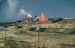 Hudson Bay Mining & Smelting Co. - Mine and North Shaft