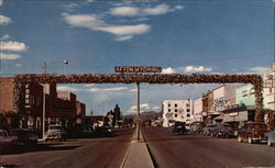 Elk Horn Arch On Main Street In Afton