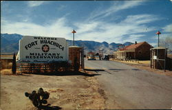 Main Gate at Fort Huachuca