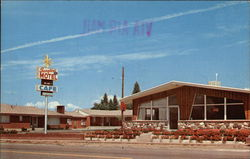 Sunglow Motel & Cafe Postcard