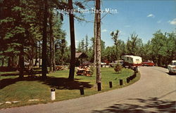 Vacationland Scene Postcard