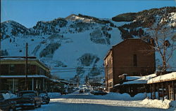 Aspen Mountain and Wheeler Opera House