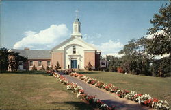 Fellowship House - 1955 - New Parish House of First Church in Swampscott, Congregational
