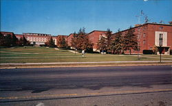 University of Connecticut - Mens Dorms on the North Campus