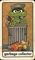 Oscar the Grouch - Garbage Collector