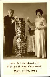Let's All Celebrate!!! National Postcard Week 1986