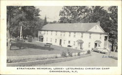 Strathearn Memorial Lodge - Letourneau Christian Camp Postcard