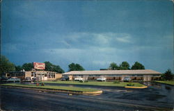Berris Motels Postcard