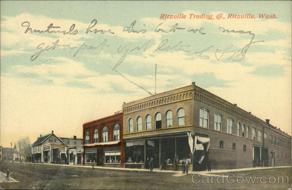 Ritzville Trading Co. Washington