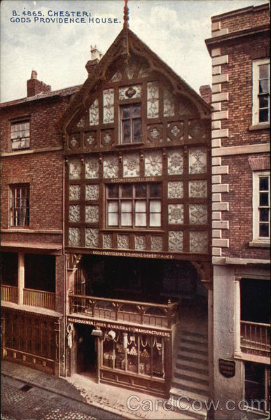God's Providence House Chester England Cheshire