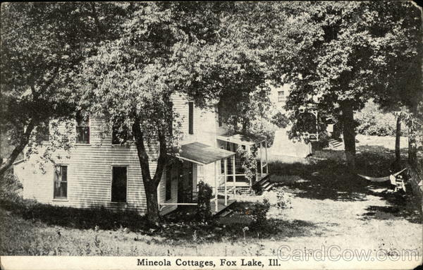 Mineola Cottages Fox Lake Illinois
