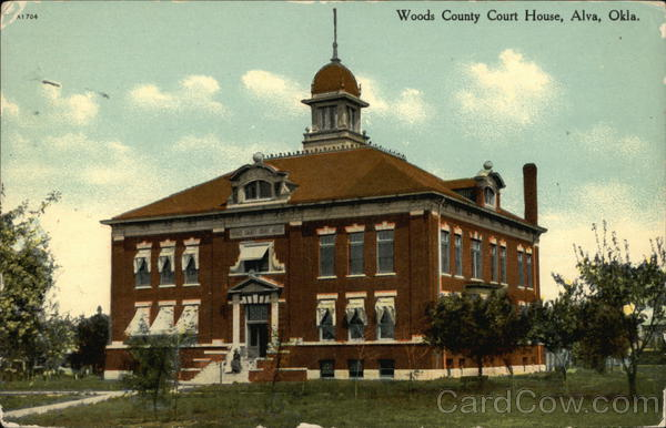 Woods County Court House Alva Oklahoma