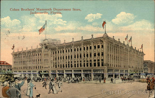 Cohen Brothers' Mammoth Department Store Jacksonville Florida