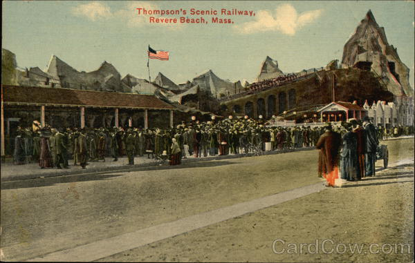 Thompson's Scenic Railway Revere Beach Massachusetts