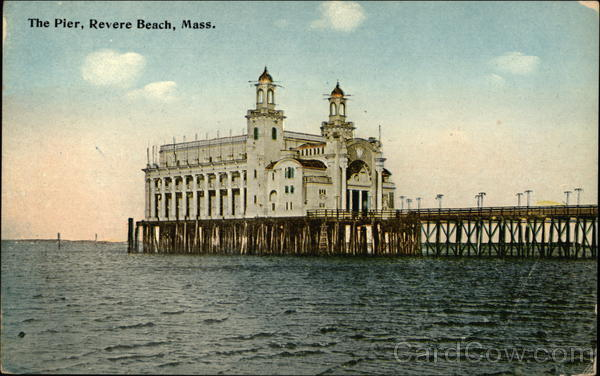 Water View of The Pier Revere Beach Massachusetts