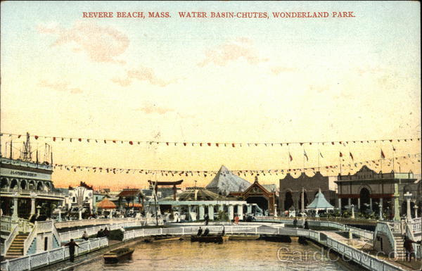 Water Basin Chutes, Wonderland Revere Beach Massachusetts