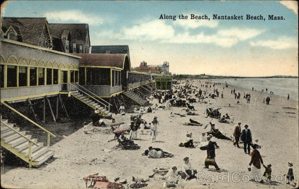 Along the Beach Nantasket Beach Massachusetts