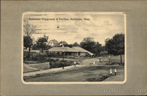 Playground and Pavilion Roslindale Massachusetts